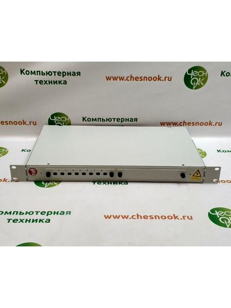Корпус оптического кросса стоечный 19 8FC/ST КРС-16/8-ST FC