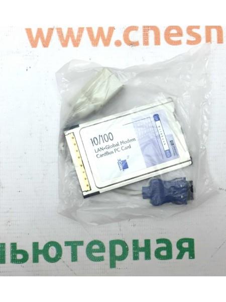 Сетевая карта PC Card 3CXFEM656C-HP