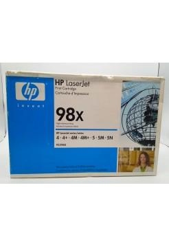 Картридж HP 92298X экономичный Черный (Black)