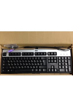 Клавиатура HP KB-0316 PS/2 Silver-Black (105 высоких клавиш) Новая
