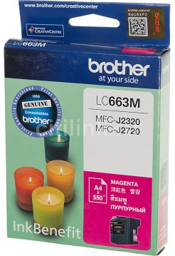 Картридж Brother LC663M Magenta