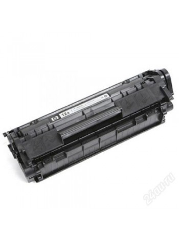 Картридж HP Q2612A Black восстановленный
