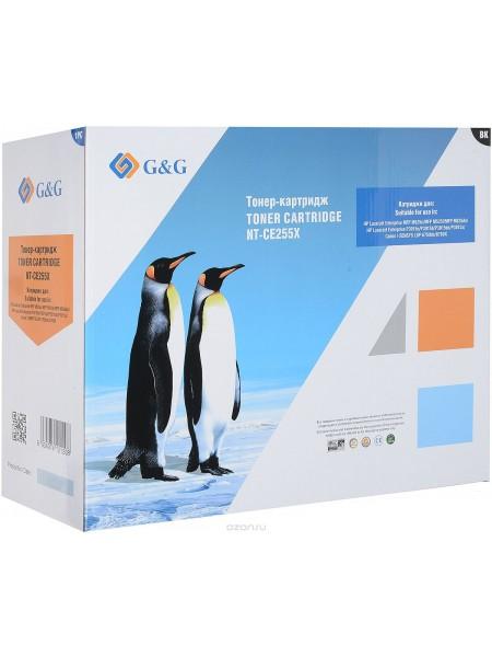 Картридж G&G NT-CE255X для HP LaserJet P3011-P3015-P3016