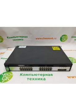 Коммутатор Cisco WS-C3750G-24TS-E