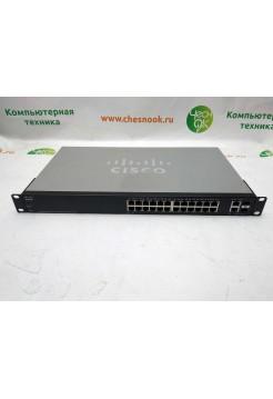 Коммутатор Cisco SF220-24P 26 x RJ45