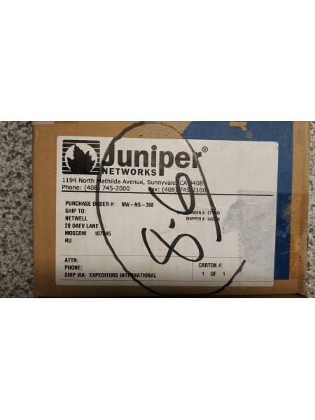Модуль Juniper PB-4DS3