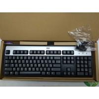 Клавиатура HP KB-0133 PS/2 Silver-Black (105 высоких клавиш) Новая