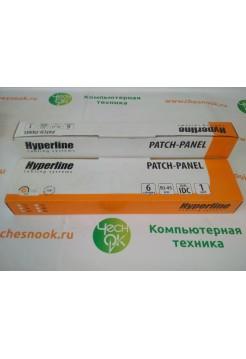 Патч-панель Hyperline PP2-19-24-8P8C-C6-110