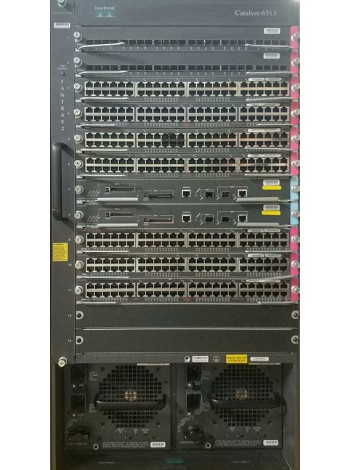 Шасси Cisco Catalyst WS-C6513 + 11 модулей в комплекте