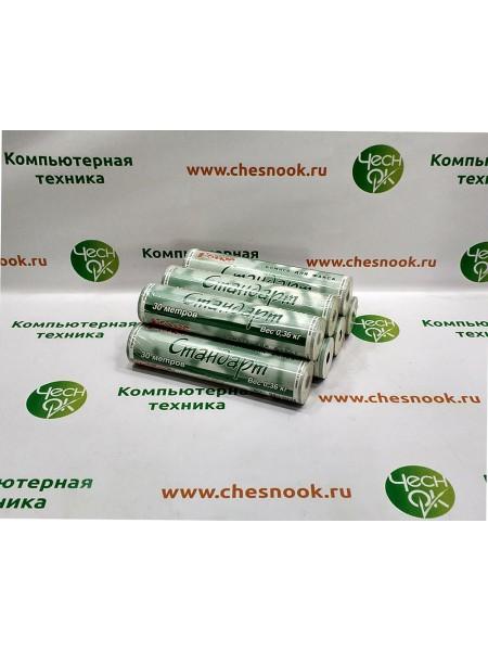 Термобумага для факса Комус Fax Стандарт 216мм, 30м