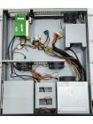 Корпус серверный стоечный 19 2U front panel 2 USB/420W/Black