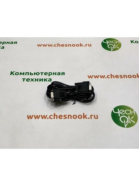 Кабель удлинитель RS232 m-f black, 1.9m