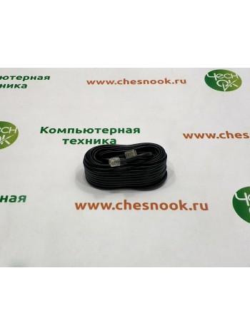 Патч-корд RJ11 black, 14.8m