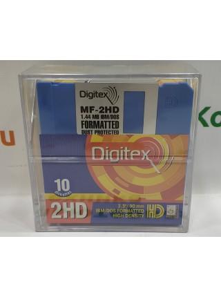 Комплект дискет 3.5 Digitex 10MFD-CP из 10шт