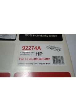 Картридж 92274A , № 74A, совместимый для принтеров HP