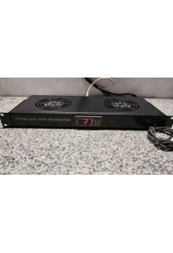 Вентиляторный модуль с цифровым термостатом FM05-1U2TS