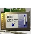 Сетевая карта PCMCIA + модем 3Com 3CXFEM656C-HP