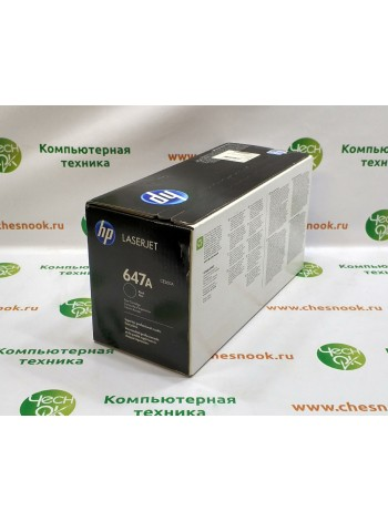 Картридж HP 647A CE260A Black
