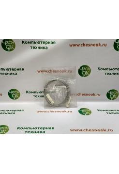 Патч-корд 110-110 Hyperline PC-110-110-2P-C5-2M-GY grey, 2m