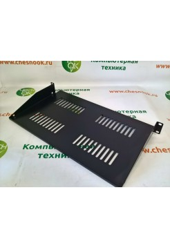 Полка Hyperline TASG1-267-RAL90044