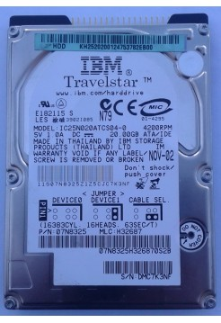 HDD 2,5 IDE 20GB IBM IC25N020ATCS04-0