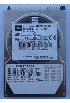 HDD 2,5 IDE 20GB Toshiba MK2023GAS