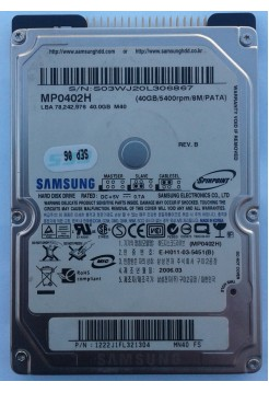 HDD 2,5 IDE 40GB Samsung MP0402H