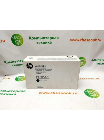 Картридж HP 05A CE505AC Black